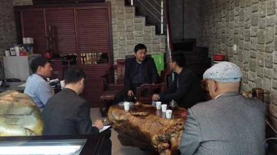 市民宗局走访维吾尔族企业家